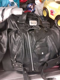 its a nice heavy Real leather jacket  Richmond