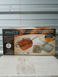 5in1 copper cooking pan Markham, L3T 4X1