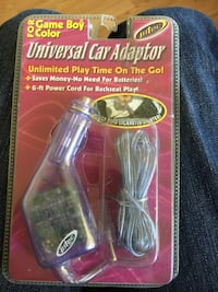 New universal car adapter for game boy color  Tigard, 97223