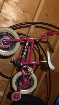 toddler's pink floral training bicycle Oyster Bay, 11801
