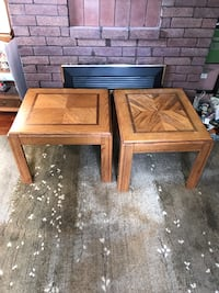 Pair of end tables Victoria, V8S 4T9