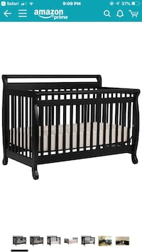 4 in 1 baby crib with toddler rails Ashburn, 20148