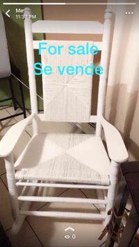 white wooden windsor rocking chair Perth Amboy, 08861