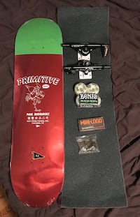 Primitive independent bones complete skateboard BRAND NEW!  Plymouth, 48170