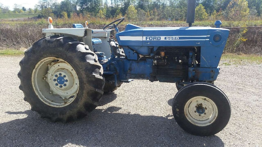 Ford 5600 Tractor : Used ford tractor in jefferson township