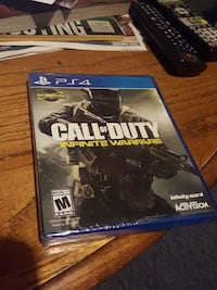 Call of Duty Infinite Warfare PS4 game case Hagerstown, 21742