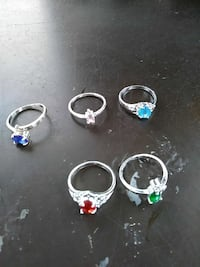 Sterling silver rings New Holland, 17557