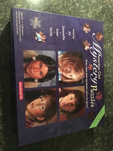 American Girl-4 puzzles in one!