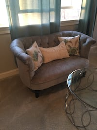Almost brand new, love seat, silver sage, orig $750, 3 months is, never sat on. Midlothian, 23113