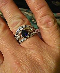 925 silver with sapphire setting  Denver, 80221