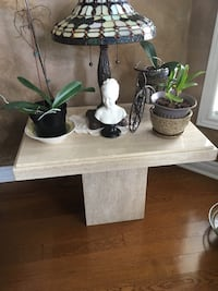 Three piece marble coffee and end tables Toronto, M6G