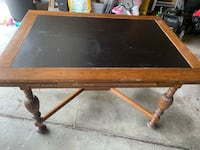 Antique Oak Table with Leaves Southfield, 48076