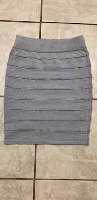 Sparkly silver skirt Mississauga, L5B