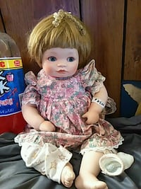 white and pink dressed doll Baltimore, 21229
