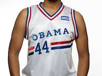 Unopened Obama 2012 Campaign Basketball Jersey (The only commissioned jersey from OFA 2012) Ashburn, 20148