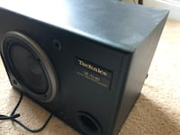 "Technics 60W 7"" Active Subwoofer SB-AS40 Marvin"
