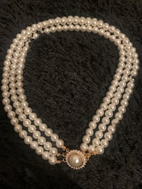 Vintage Pearl String Necklace
