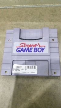 Super GameBoy Game Cartridge for SNES Whitby, L1P