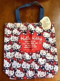 New Hello Kitty Sanrio Tote Bag sturdy purse Fairfield, 94534