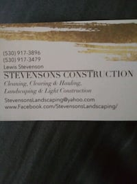 Give us a call for a free Quote today. Redding