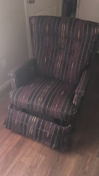 brown and black plaid fabric sofa chair Claremore, 74017