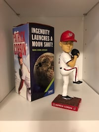 2019 Patrick Corbin Washington Nationals Bobblehead