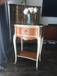 Delivery - antique French night stand Toronto, M9B 3C6