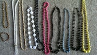 10 necklaces + 1 matching bracelet less then 60¢ e Muskego, 53150