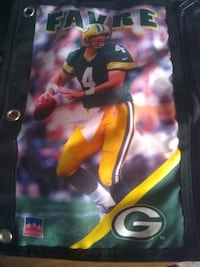 NFL Brett Favre Zipper Holder Spotsylvania Courthouse