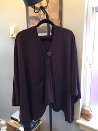 Hooded Poncho size L Vancouver, V6E 1Y8