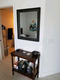 Mirror and End Table- $70