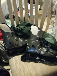 pair of black inline skates Jacksonville, 32246