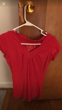 Rue 21 red shirt  Shelby, 28152