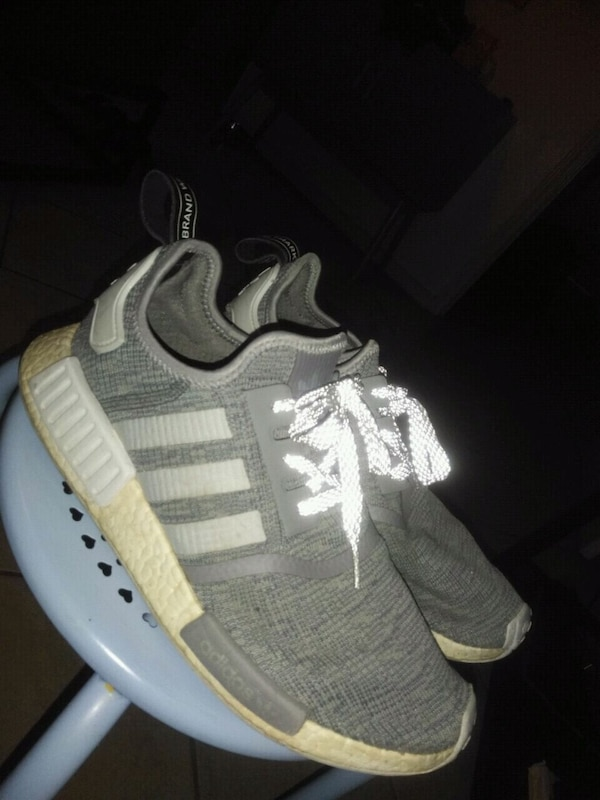 d71b43f1 Used Adidas grey nmds size 10 for sale in Laredo - letgo