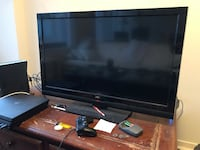 black Samsung flat screen TV Arlington, 22202