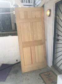 36 inch solid wood door