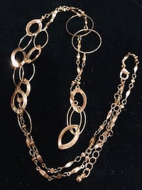 Open circle link necklace, 32 inches! Silver Spring, 20904
