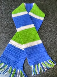 NFL COLORED SCARF - SEAHAWKS Albuquerque