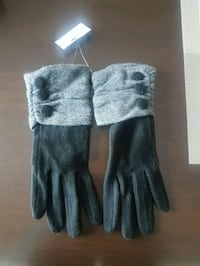 Gloves with button detail