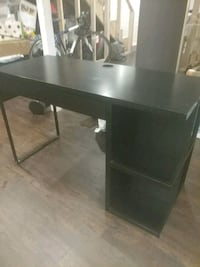 black wooden single computer desk Capitol Heights, 20743