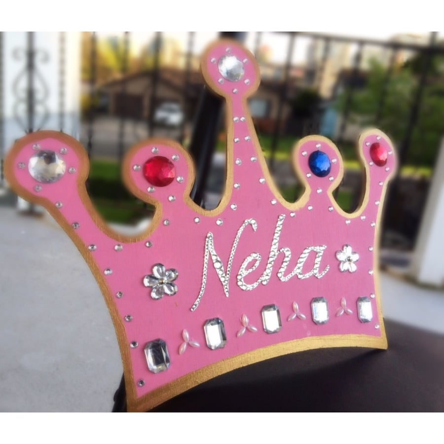 Large Custom Sparkling CROWN for your Princess 94cdfe68-d2b6-4412-a2a5-1fe1c276813e