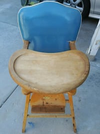 HIGH CHAIR made by Thayer