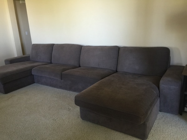 Tremendous Gray Ikea Kivik Sectional Sofa Inzonedesignstudio Interior Chair Design Inzonedesignstudiocom