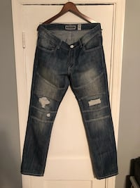 INC ripped jeans size 34-34 in good condition 46 km