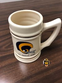 Los Angeles Rams Stein and Pin Paramount, 90723