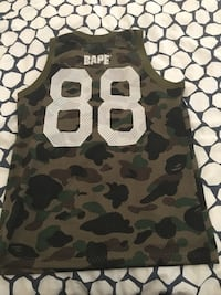 Bape Basketball jersey