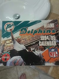 dolphins miami 1994-95 calendar box Fort Myers, 33907