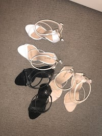 four pairs of assorted-color sandals Centennial, 80122