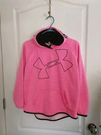 pink and black Under Armour pullover hoodie Sudbury, P3E 4C8