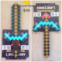 Minecraft Sword Transforms to Pickaxe Mississauga, L5W